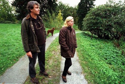 """Bilde er tatt da BA besøkte """"Moldegaard"""" på Os i 1997."""