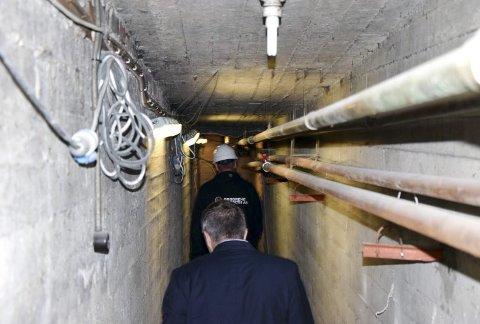 Denne «hemmelige» korridoren går fra bak scenen og ned til nye lokaler under bakgården. – Kulturaktører vil sette pris på en stor og god backstage, tror Ystebø.