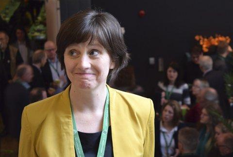 Kjersti Toppe er både omstridt og populær i sitt eget parti, men så er hun også den eneste stortingspolitikeren Senterpartiet har som er fra en by. FOTO: GEIR KVILE