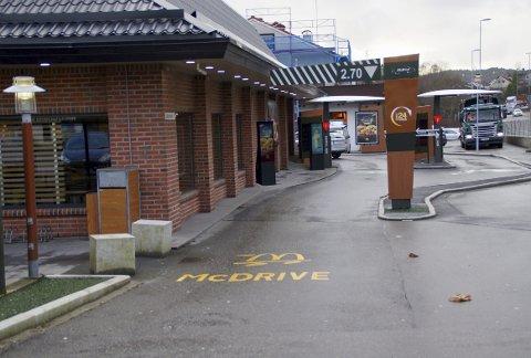 McDonald's i Rådalen er åpen 24 timer i døgnet.– McDonald's Rådalen er faktisk den største på landsbasis i bestillinger hva gjelder drive through, sier Marius Kyte Alfheim.