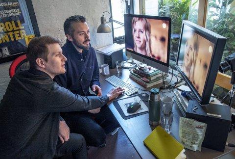 I tiden etter den bejublede debuten har filmteamet fulgt artisten Aurora gjennom 85 opptaksdager. Her er regissørene  Benjamin Langeland og Stian Servoss.
