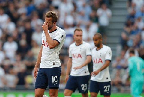 Tottenham og Harry Kane (tv.) har fått en forferdelig start på sesongen. Vi tror at Røde Stjerne kan skape problemer for Spurs hjemme i Nord-London.
