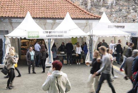 Bergenfest 2019 er historie. Her er fra teltene der festivalgjengerne kunne fylle på sine Cashless-kort.