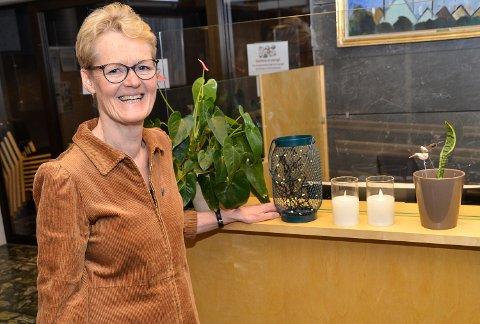 MYKER OPP: – Det er svært hyggelig at smittesituasjonen  tillater at vi kan myke opp litt i smittevernforskriftene før julefeiringen tar til, sier ordfører Sunni Grøndahl Aamodt i Modum.