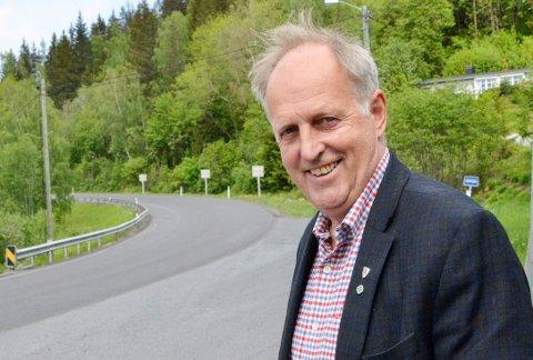 STRAKSTILTAK: – Som et strakstiltak starter vi allerede i neste uke med kanthogst i Heggenveien, sier Olav Skinnes (SP).