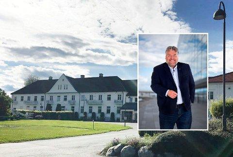 KRITISK: Morten Wold er kritisk til at ansatte ved Vikersund Bad og andre private helsearbeidere ikke når opp i vaksinekøen.