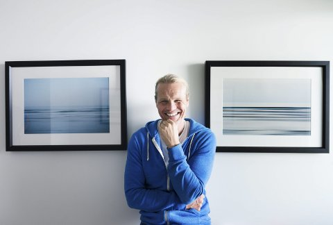 HJEM KJÆRE HJEM: Stjernefotografen Erik Asla (52) er tilbake til Drammen by, og skal ha utsilling på Drammen Museum neste juni.