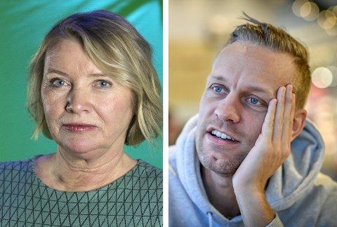 Marie Simonsen og Mads Hansen utvekslet flere krasse «tweets» da debatten om ordet rivjern dukket opp på Twitter.