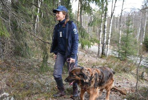 Gry Liljefors er rådgiver i SNO som samarbeider med Statsforvalteren, som er de som har forvaltningsansvaret for de fleste naturreservater og for Østmarka naturreservat.