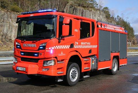 Slik kan en ny brannbil til Nordkapp brann og redning bli seende ut.