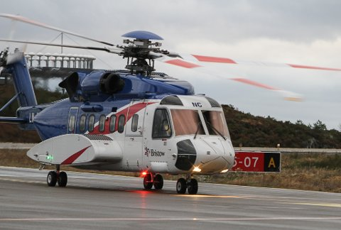 NOK MED EITT: Det er berre bruk for eitt helikopter i Florø slik situasjonen er i dag, meiner Equinor.