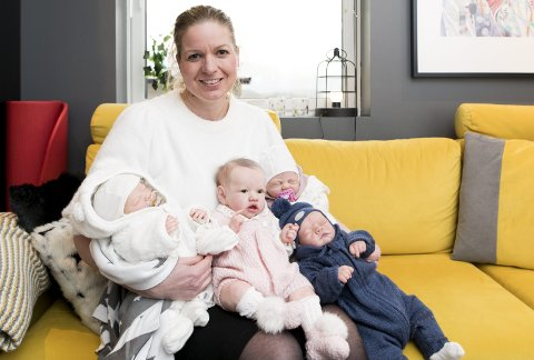 Elisabeth Dahl er trebarnsmor og jobber i Fiskeridirektoratet. På fritiden elsker hun å drive med kreative sysler, blant annet å lage «reborn-dukker». Målet er at de skal se så ekte                         ut som mulig.