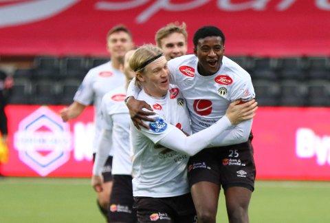 GOD START: Alioune Ndour flyttar til Rogaland.