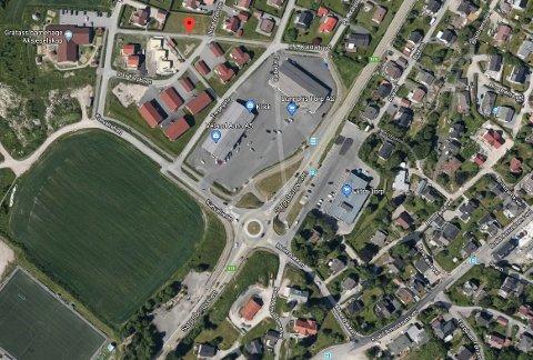 Uhellet skjedde på Sarpsborgveien på Torp tirsdag ettermiddag.