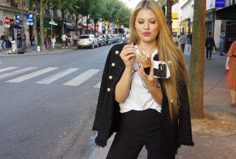 VIL BLI MISS: Isabel Kemi (22) håper å kunne representere Fredrikstad i neste års Miss Norway-konkurranse