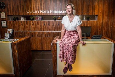 SLUTTER: Etter tre år gir Sabina-Marika Widenqvist seg som hotelldirektør på Quality.