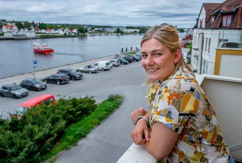 Hannah Berg er gruppeleder for Rødt i bystyret. Nå satser hun også på en stortingsplass.