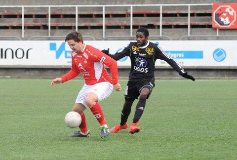 Tobias Fjellbakk ble matchvinner i det 90.minutt.