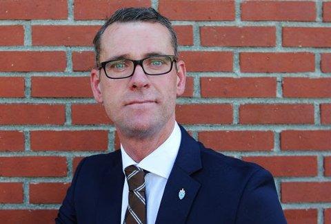 John Ommund Syvertsen er ansatt utbyggingssjef for Nye Evenes flystasjon.