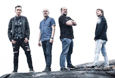 STORMAN: Pop-rockbandet Storman med nytt album. Håper å få spille live.