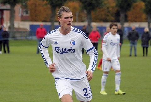 Ny kontrakt: Julian Kristoffersen har skrevet under på en ny 18-månederskontrakt med FC København.