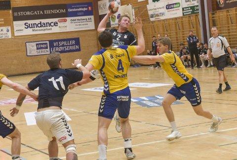 KAPTEIN: Marius Kleiven var Falks beste og toppscorer da laget slo Bodø onsdag kveld.