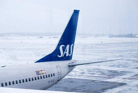 SAS fortsetter å fly til Kina.