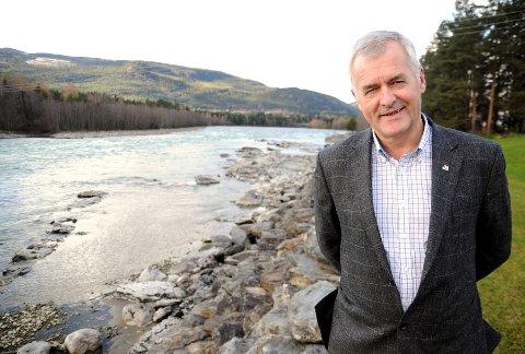 PÅ VAKT: Bjarne Slapgard, administrerende direktør i Gudbrandsdal Energi.