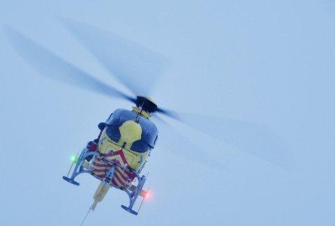 NYTT: Dombåsbasen til Norsk Luftambulanse tar i bruk nytt legehelikopter.