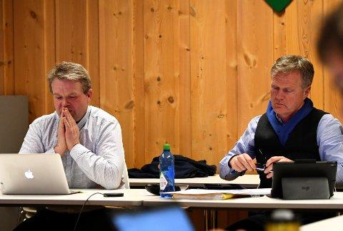 Ordfører Ole Tvete Muriteigen reagerer på at rådmann Rune Fromreide Sommer har konstituert folk i flere lederstillinger i kommunen.