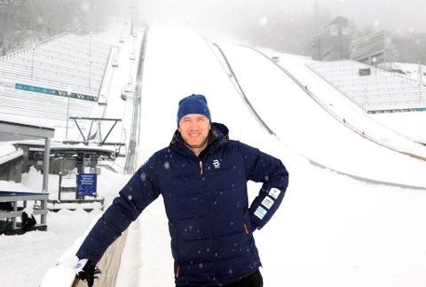 Kristian Brenden har gode minner fra Lysgårdsbakkene. Mandag og tirsdag er han rennleder i Raw Air.