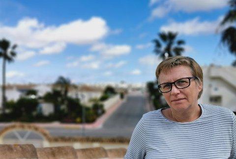 PRESTENS UTFORDRING: - Det er ikke alltid så enkelt å snakke om håp, sier Anita Dalehavn. Hun er prest i sjømannskirken i Torrevieja i Spania, et land som er hardt rammet av koronaviruset.