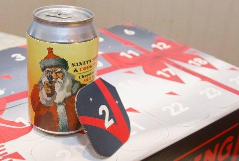 KAN EKSPLODERE: Gulating advarer mot denne ølen i luke nummer 2
