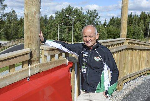 Stolt leder: Terje Jensen har vært med i TFL siden slutten av 60-åra. Han er stolt av alt som har skjedd de siste årene, blant annet den jobben som er lagt ned i nyåpnede Tistedalen Skianlegg.