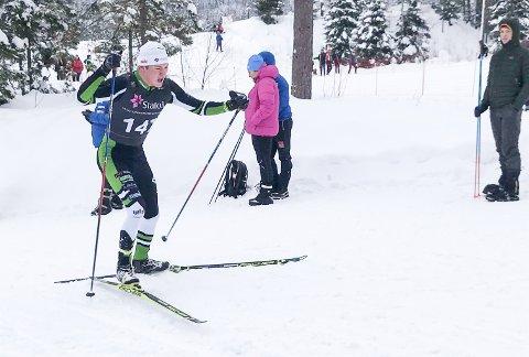 I FORM: Marius Svendsby ble nummer 11 i HalvBirken.