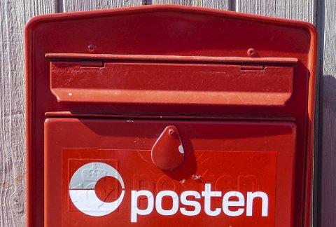 POST-SMELL: Nordmenn sender stadig færre brev. Det var 12,9 prosent nedgang i brevvolumet i 2018.