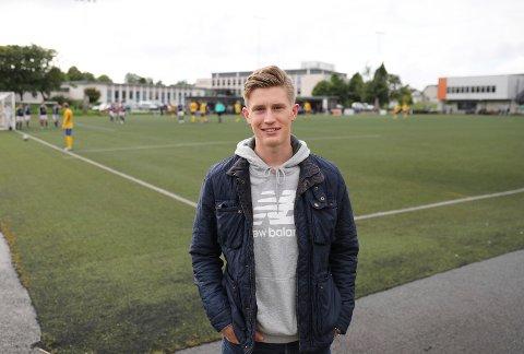 DEN AMERIKANSKE DRØMMEN: Sander Sørhaug har fått fotballstipend og skal til USA for å studere i fire år.