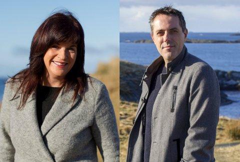 Forfatterektepar: Geir Tangen og Agnes Lovise Matre.