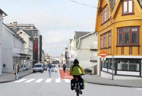 Tilrettelegging:  Det påligger regionsbyen et særlig ansvar i å ta imot flere myke trafikanter på en god måte om vi skal nå alt fra klima-, folkehelse- og attraktivitetsmål, skriver innsender.