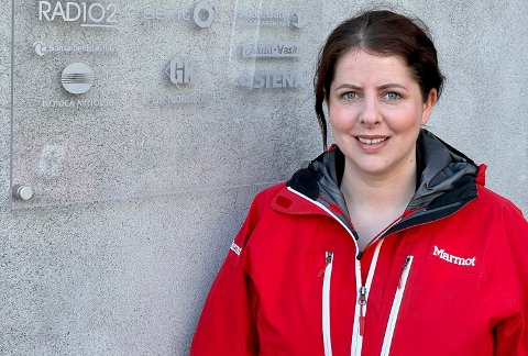 FORNØYD: Nestleder i Haugesund Røde Kors, Wenche Urdal, kan fornøyd konstatere at årets påskeaktiviteter slo godt an.