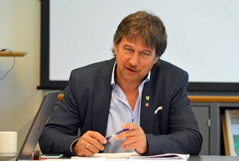 Ivan Haugland, ordfører i Leirfjord kommune.