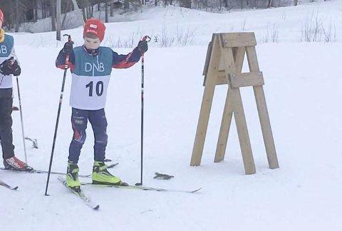 GOD DELTAKELSE: Nybegynner Per-Steinar Sirijord (bildet) gikk sammen med VM-deltaker Marte Kråkstad Johansen.