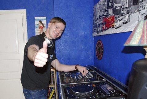 TOMMELEN OPP FOR IBIZA: Hammerfestingen Dan Olaisen skal delta i verdens største DJ-konkurranse på Ibiza. Alle foto: Trond Ivar Lunga