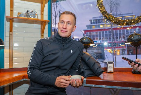 TIL-RETUR: Morten Gamst Pedersen hadde mandag et møte med TIL-ledelsen om en mulig retur til klubben.
