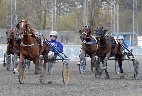 DØNN OVERLEGEN: Etter å ha fått det mest krevende løp av alle, reiste Moni Viking og Bjørn Goop fra konkurrentene til råsterk seier Ørebro International lørdag.