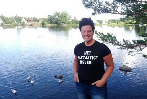 TERAPI: Janne Nordvang innrømmer at bloggen betyr mye for henne, men liker ikke å bli kalt for «blogger». For henne er det terapi å skrive.