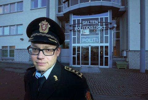 Stig Morten Løkkebakken er påtaleleder i Nordland politidistrikt.