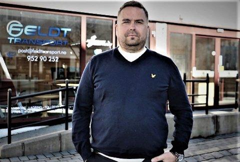 Rune Feldt fra Sandnessjøen overtok det velrenommerte firmaet Per Johansen Transport 1. januar 2019, og har nå fått enda en kontrakte med Coopkjeden. I dag har han 28 ansatte men trenger flere