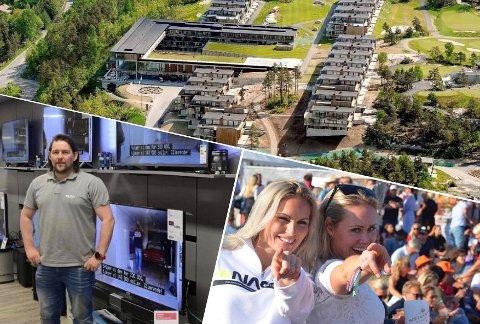 POPULÆRT: Resorten troner øverst på lista over Kragerø-relaterte Google-søk i fjor. Elon Kragerø og Kragerøfest var blant de som økte mest i popularitet. Fotomontasje: Arkiv / Per Eckholdt / Sondre Lindhagen Nilssen