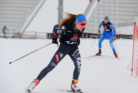 Guro Femsteinevik utklassa konkurrentane og var i ein eigen klasse på normalprogrammet i Kvalfoss-sprinten på søndag.